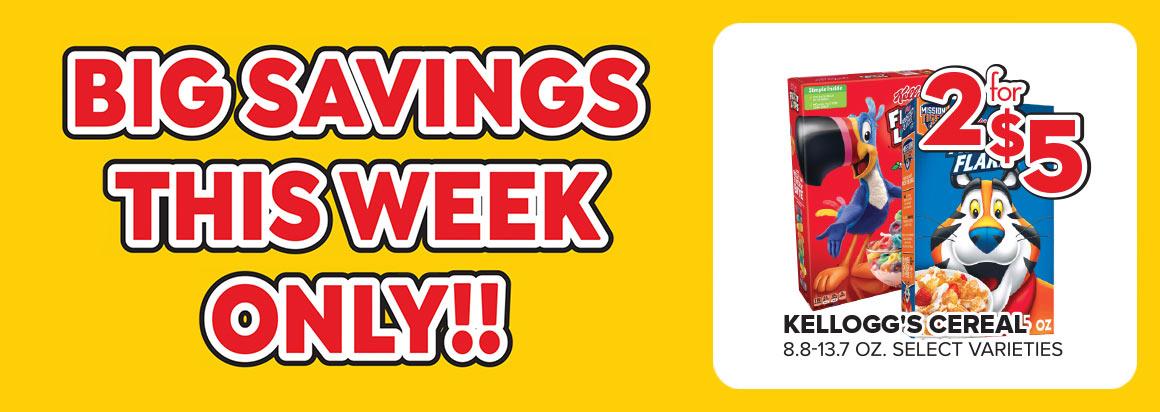 Big Savings This Week Only